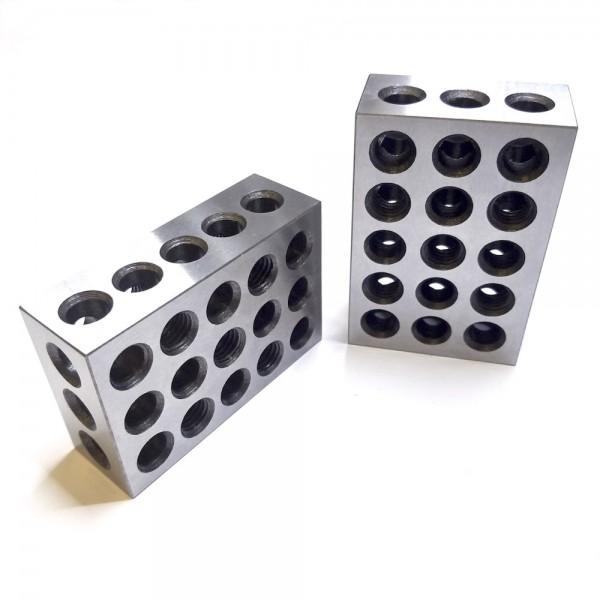 Parallelblöcke 25x50x75 tlw. M10 + Holzbox